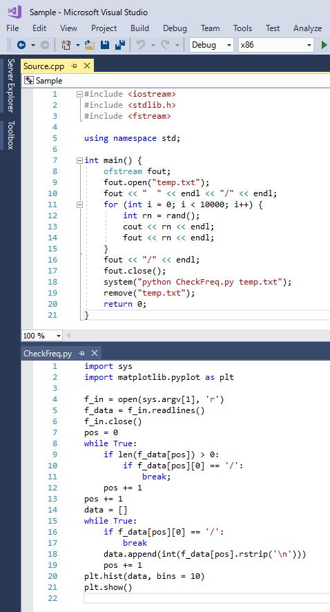 C/C++ with Python
